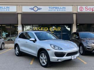 Used 2011 Porsche Cayenne S, CLEAN CARFAX, 2 YEARS WARRANTY for sale in Vaughan, ON