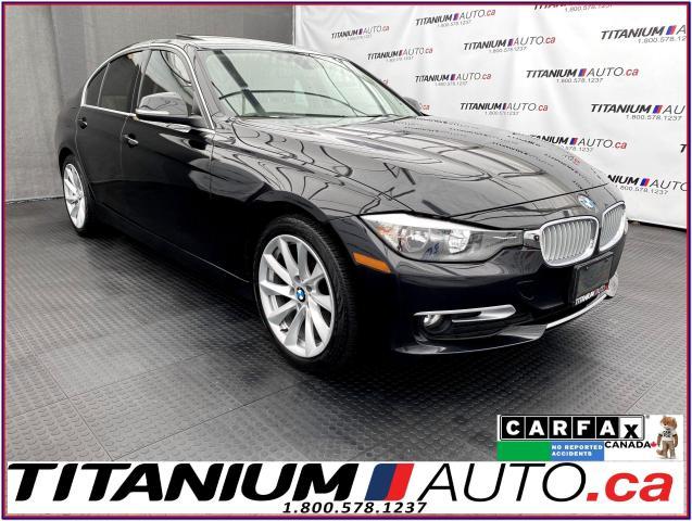 2014 BMW 3 Series xDrive+GPS+Park Sensors+Sunroof+Heated Leather Sea