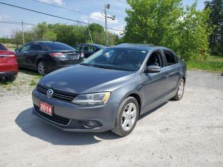 Used 2014 Volkswagen Jetta TSI POWER SUNROOF CERTIFIED for sale in Stouffville, ON