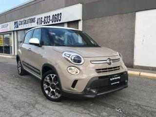 Used 2014 Fiat 500L Trekking-Navi-camera for sale in Toronto, ON