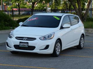 Used 2016 Hyundai Accent HEATED SEATS,BLUETOOTH,CRUISE,NO-ACCIDENTS,LOADED for sale in Mississauga, ON