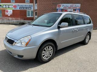 Used 2011 Kia Sedona LX/3.5L/ONE OWNER/NO ACCIDENT/SAFETY+WARRANTY INCL for sale in Cambridge, ON