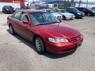 Used 2002 Honda Accord LX for sale in Vancouver, BC