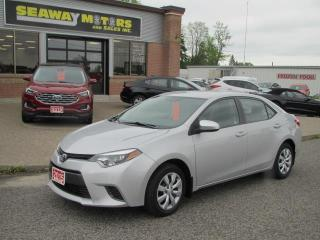 Used 2015 Toyota Corolla LE CVT for sale in Brockville, ON