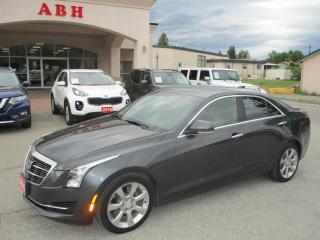 Used 2016 Cadillac ATS 4 2.0L LUXURY AWD for sale in Grand Forks, BC