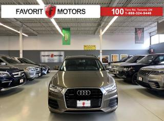Used 2016 Audi Q3 2.0T Komfort *CERTIFIED!*|QUATTRO|PANOROOF|LEATHER for sale in North York, ON