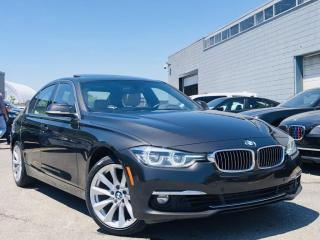 Used 2016 BMW 3 Series |328i XDRIVE|HEATED MEMORY SEATS|NAVI|SUN ROOF|WOOD TRIM! for sale in Brampton, ON