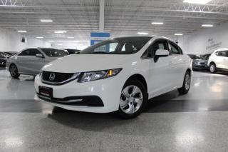 Used 2015 Honda Civic LX I NO ACCIDENTS I REAR CAM I HEATED SEATS I KEYLESS ENTRY for sale in Mississauga, ON