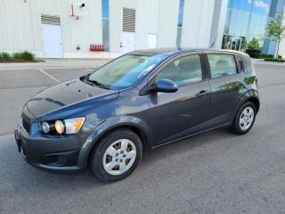 Used 2013 Chevrolet Sonic 5dr HB LS Auto for sale in Mississauga, ON