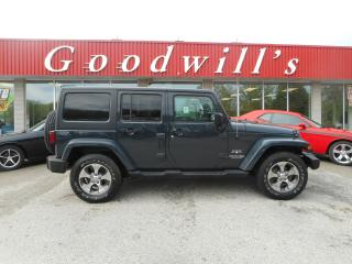 Used 2018 Jeep Wrangler JK Unlimited UNLIMITED! CLEAN CARPROOF! HEATED LEATHER! NAV! for sale in Aylmer, ON