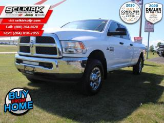 Used 2017 RAM 3500 SLT - Chrome Wheels - $270 B/W for sale in Selkirk, MB