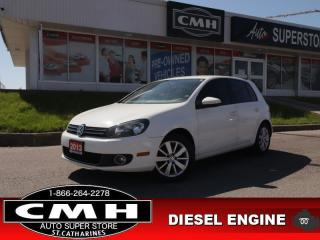 Used 2013 Volkswagen Golf COMFORTLINE for sale in St. Catharines, ON