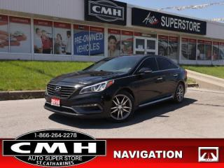 Used 2016 Hyundai Sonata Ultimate 2.0T for sale in St. Catharines, ON
