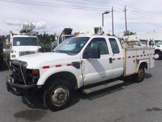 Used 2009 Ford F-350 SD SuperCab Service Truck 4WD for sale in Burnaby, BC