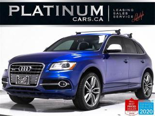 Used 2016 Audi SQ5 3.0T quattro Technik, AWD, NAV, PANO, HEATED for sale in Toronto, ON