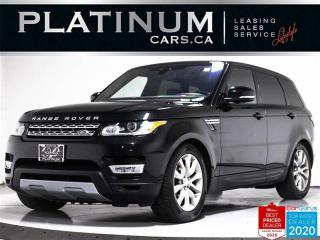 Used 2017 Land Rover Range Rover Sport HSE Td6, DIESEL, NAV, PANO, 360 CAM, HEATED SEATS for sale in Toronto, ON