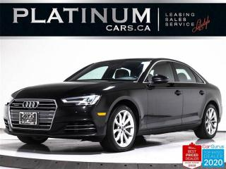 Used 2017 Audi A4 2.0T Quattro Progressiv, AWD, NAV, HEATED SEATS for sale in Toronto, ON