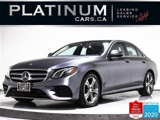 Used 2017 Mercedes-Benz E-Class E300 4MATIC, AWD, NAV, PANO, PREMIUM, CAM, KEYLES for sale in Toronto, ON