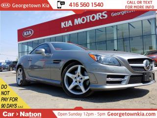Used 2013 Mercedes-Benz SLK SLK 350 ROADSTER| AMG STYLING| RED INTERIOR | NAVI for sale in Georgetown, ON