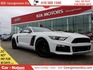 Used 2016 Ford Mustang ROUSH MUSTANG STAGE II | 8,646KM | CLEAN CARFAX for sale in Georgetown, ON