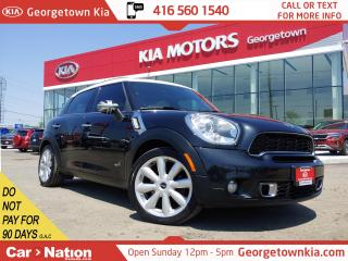 Used 2011 MINI Cooper Countryman S ALL4 | LEATHER | PANO ROOF | TITNS | B/U SENSORS for sale in Georgetown, ON