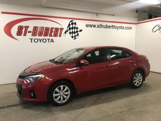 Used 2015 Toyota Corolla 4dr Sdn Man S for sale in St-Hubert, QC