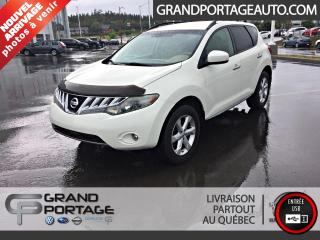 Used 2009 Nissan Murano Traction intégrale 4 portes SL for sale in Rivière-Du-Loup, QC