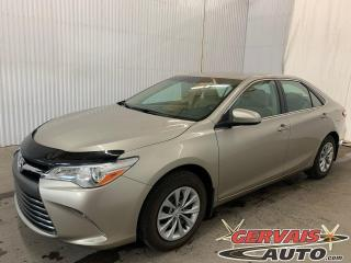 Used 2016 Toyota Camry LE Caméra de recul Bluetooth A/C for sale in Trois-Rivières, QC