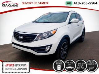 Used 2015 Kia Sportage SX* TURBO* AWD* CAMERA* BIZONE* for sale in Québec, QC