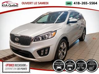Used 2016 Kia Sorento SX* TURBO* AWD* GPS* TOIT PANO* for sale in Québec, QC