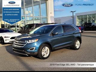 Used 2016 Ford Edge SEL,CUIR,TOIT PANO,AWD for sale in Victoriaville, QC