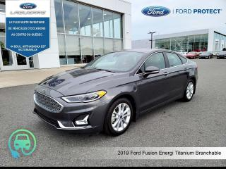 Used 2019 Ford Fusion Titanium , Branchable for sale in Victoriaville, QC