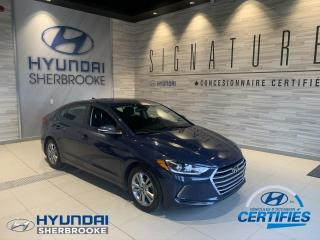 Used 2017 Hyundai Elantra GL+CAMERA+ANDROID/APPLE+ANGLES-MORTS for sale in Sherbrooke, QC