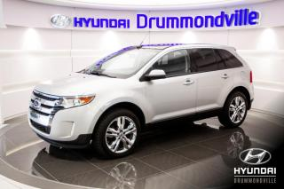 Used 2012 Ford Edge SEL AWD + GARANTIE + TOIT PANO + CUIR + for sale in Drummondville, QC