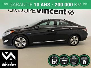 Used 2013 Hyundai Sonata Hybrid Limited  TOIT PANO ** GARANTIE 10 ANS ** Économique et fiable! for sale in Shawinigan, QC