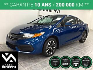 Used 2014 Honda Civic EX COUPE ** GARANTIE 10 ANS ** Véhicule sport à fier allure! for sale in Shawinigan, QC