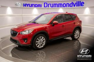 Used 2014 Mazda CX-5 GT AWD + GARANTIE + TOIT + BOSE + for sale in Drummondville, QC