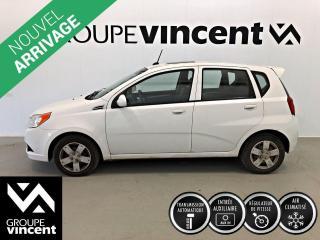 Used 2011 Chevrolet Aveo 1LT CLIMATISEUR ** GARANTIE 10 ANS ** Véhicule parfait pour étudiant, bas kilométrage! for sale in Shawinigan, QC