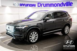 Used 2018 Volvo XC90 T8 INSCRIPTION HYBRID + GARANTIE + CUIR for sale in Drummondville, QC