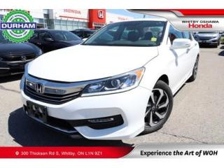 Used 2016 Honda Accord EX-L for sale in Whitby, ON