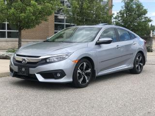 Used 2017 Honda Civic Sedan Touring for sale in Brampton, ON