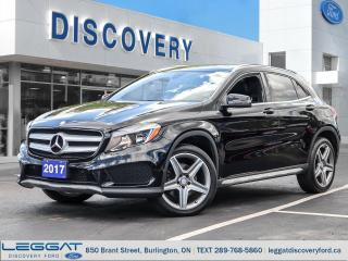 Used 2017 Mercedes-Benz GLA 4MATIC SUV for sale in Burlington, ON
