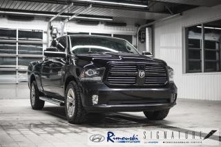 Used 2014 RAM 1500 4WD Quad Cab Sport chez Rimouski Hyundai for sale in Rimouski, QC