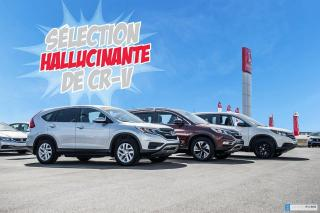 Used 2015 Honda CR-V GARANTIE LALLIER MOTO-PROPULSEUR 10ANS/200,000 KIL P5042   NOIR for sale in Terrebonne, QC