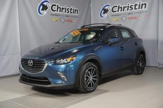Used 2018 Mazda CX-3 TOUT EQUIPÉ MAG PORTE BAGGAGE FOG BLUETOOTH for sale in Montréal, QC