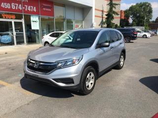 Used 2016 Honda CR-V 5DR AWD LX for sale in Longueuil, QC