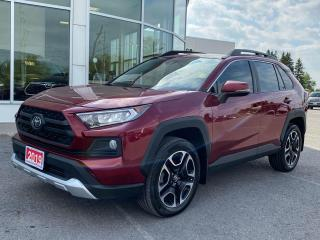 Used 2019 Toyota RAV4 Trail TRAIL EDITION! for sale in Cobourg, ON