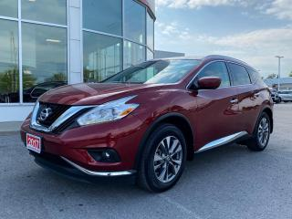 Used 2017 Nissan Murano SL+SNOW TIRES! for sale in Cobourg, ON