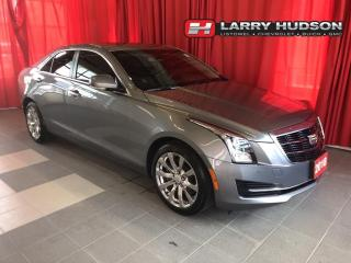 Used 2018 Cadillac ATS 2.0L Turbo Luxury AWD   Navigation   Sunroof   Leather for sale in Listowel, ON