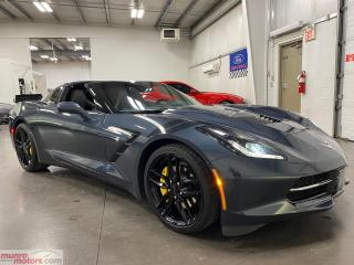 Used 2019 Chevrolet Corvette 2dr Stingray Cpe w-1LT CompSeats CarbonRoof for sale in St. George Brant, ON
